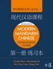 Modern Mandarin Chinese : The Routledge Course Workbook Level 1 - eBook