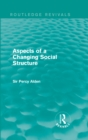 Aspects of a Changing Social Structure - eBook