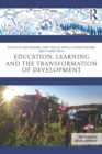 Education, Learning and the Transformation of Development - eBook