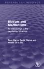 Motives and Mechanisms : An Introduction to the Psychology of Action - eBook