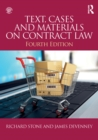 Text, Cases and Materials on Contract Law - eBook