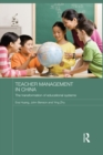 Teacher Management in China : The Transformation of Educational Systems - eBook