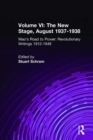 Mao's Road to Power: Revolutionary Writings, 1912-49: v. 6: New Stage (August 1937-1938) : Revolutionary Writings, 1912-49 - eBook