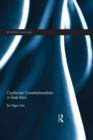 Confucian Constitutionalism in East Asia - eBook