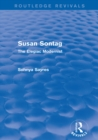 Susan Sontag (Routledge Revivals) : The Elegiac Modernist - eBook