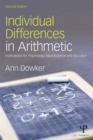 Individual Differences in Arithmetic : Implications for Psychology, Neuroscience and Education - eBook