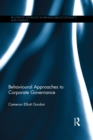 Behavioural Approaches to Corporate Governance - eBook