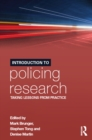 Introduction to Policing Research : Taking Lessons from Practice - eBook