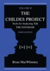 The Childes Project : Tools for Analyzing Talk,  Volume II: the Database - eBook