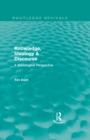 Knowledge, Ideology & Discourse : A Sociological Perspective - eBook
