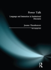 Power Talk : Language and Interaction in Institutional Discourse - eBook