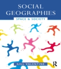 Social Geographies : Space and Society - eBook