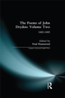The Poems of John Dryden: Volume Two : 1682-1685 - eBook