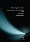 Contemporary Italy : Politics, Economy and Society Since 1945 - eBook