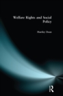 Welfare Rights and Social Policy - eBook