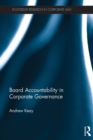 Board Accountability in Corporate Governance - eBook
