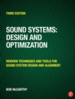 Sound Systems: Design and Optimization : Modern Techniques and Tools for Sound System Design and Alignment - eBook