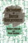 Dictionary of British Educationists - eBook
