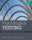 Psychological Testing : Principles, Applications, and Issues - Book