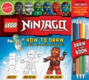 LEGO NINJAGO: How to Draw Ninja, Villains and More - Book