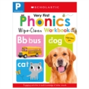 Wipe-Clean Workbook: Pre-K Very First Phonics (Scholastic Early Learners) - Book