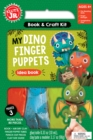 My Dino Finger Puppets - Book