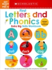 First Letters and Phonics Get Ready for Pre-K Workbook: Scholastic Early Learners (Extra Big Skills Workbook) - Book
