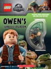 Owen's Jurassic Logbook (wth Owen minifigure and mini Blue Raptor) - Book