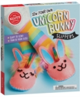Sew Your Own Unicorn Bunny Slippers - Book