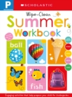 Pre-K Summer Workbook: Scholastic Early Learners (Wipe-Clean Workbook) - Book