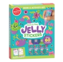 Paint & Peel Jelly Stickers - Book