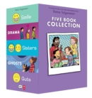Raina Telgemeier Collection Box Set (Smile, Drama, Sisters, Ghosts, Guts) - Book