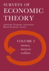 Royal Economic Society Surveys of Economic Theory - eBook