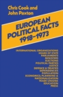 European Political Facts 1918-73 - eBook