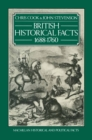 British Historical Facts: 1688-1760 - eBook