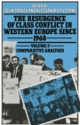 Resurgence of Class Conflict in Western Europe Since 1968 : Comparative Analysis - eBook