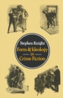 Form and Ideology in Crime Fiction - eBook