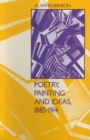 Poetry, Painting and Ideas, 1885-1914 - eBook