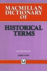 Macmillan Dictionary of Historical Terms - eBook