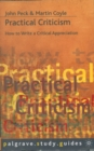 Practical Criticism - eBook