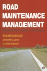 Road Maintenance Management : Concepts and Systems - eBook