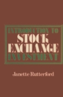 Introduction to Stock Exchange Investment - eBook