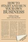 How to Start and Run Your Own Business - eBook