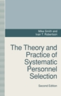 The Theory and Practice of Systematic Personnel Selection - eBook