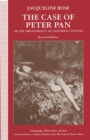 The Case of Peter Pan : or The Impossibility of Children's Fiction - eBook