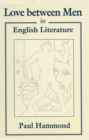 Love between Men in English Literature - eBook
