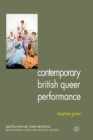 Contemporary British Queer Performance - Book