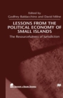 Lessons From the Political Economy of Small Islands : The Resourcefulness of Jurisdiction - eBook
