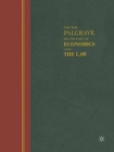 The New Palgrave Dictionary of Economics and the Law : Three Volume Set - eBook