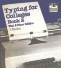 Typing for Colleges, bk 2 - eBook